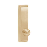 G957-611 Corbin ED5000 Series Exit Device Trim with Nightlatch Knob in Bright Bronze Finish