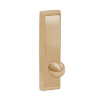 G957-612 Corbin ED5000 Series Exit Device Trim with Nightlatch Knob in Satin Bronze Finish
