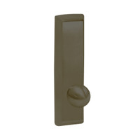 G957-613 Corbin ED5000 Series Exit Device Trim with Nightlatch Knob in Oil Rubbed Bronze Finish