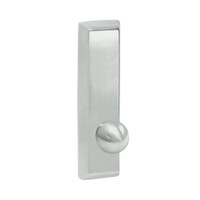G957-618 Corbin ED5000 Series Exit Device Trim with Nightlatch Knob in Bright Nickel Finish
