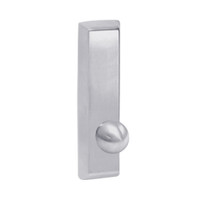 G957-625 Corbin ED5000 Series Exit Device Trim with Nightlatch Knob in Bright Chrome Finish