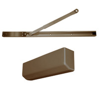 D-4550SNDAEH-690 Stanley D-4550 Surface Closers with Electronic Hold Open Arm in Statuary Bronze Finish