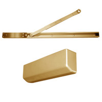 D-4550SNDAEH-691 Stanley D-4550 Surface Closers with Electronic Hold Open Arm in Light Bronze Painted Finish