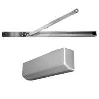 D-4550SNAVBEH-689 Stanley D-4550 Surface Closers with Electronic Hold Open Arm in Aluminum Painted Finish