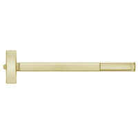 TSFL2115-606-48 PHI 2100 Series Fire Rated Apex Rim Exit Device with Touchbar Monitoring Switch Prepped for Thumb Piece Always Active in Satin Brass Finish