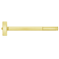 TSFL2115-605-36 PHI 2100 Series Fire Rated Apex Rim Exit Device with Touchbar Monitoring Switch Prepped for Thumb Piece Always Active in Bright Brass Finish