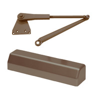 D-3551SECDAPH-695 Stanley D-3551 Surface Closers with Hold Open Parallel Arm in Dark Bronze Painted Finish