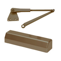 D-3551SECSRIPH-690 Stanley D-3551 Surface Closers with Hold Open Parallel Arm in Statuary Bronze Finish