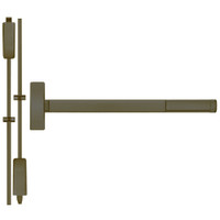 TSFL2215LBR-613-36 PHI 2200 Series Apex Surface Vertical Rod Device with Touchbar Monitoring Switch Prepped for Thumb Piece Always Active in Oil Rubbed Bronze Finish