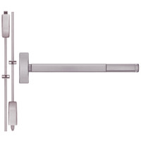 TSFL2214LBR-630-48 PHI 2200 Series Apex Surface Vertical Rod Device with Touchbar Monitoring Switch Prepped for Lever-Knob Always Active in Satin Stainless Steel Finish
