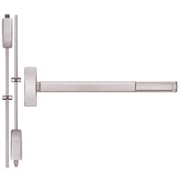 TSFL2215LBR-628-48 PHI 2200 Series Apex Surface Vertical Rod Device with Touchbar Monitoring Switch Prepped for Thumb Piece Always Active in Satin Aluminum Finish