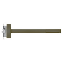 DEFL2305-LHR-613-36 PHI 2300 Series Fire Rated Apex Mortise Exit Device with Delayed Egress Prepped for Key Controls Thumb Piece in Oil Rubbed Bronze Finish