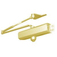 D-1611SRISNPH-696 Stanley D-1611 Surface Closers Hold Open Parallel Arm with Special Rust Inhibitor in Satin Brass Painted Finish