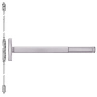 TSFL2608LBR-630-48 PHI 2600 Series Fire Rated Concealed Vertical Rod Exit Device with Touchbar Monitoring Switch Prepped for Key Controls Lever in Satin Stainless Steel Finish