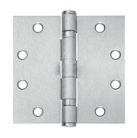 5BB1-4-5x4-600-TW8 IVES 5 Knuckle Ball Bearing Full Mortise Hinge with Electric Thru-Wire in Primed for Paint - Steel