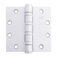 5BB1HW-5x4-5-625-TW4 IVES 5 Knuckle Ball Bearing Full Mortise Hinge with Electric Thru-Wire in Bright Chrome