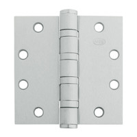 5BB1HW-5x5-600-TW4 IVES 5 Knuckle Ball Bearing Full Mortise Hinge with Electric Thru-Wire in Primed for Paint - Steel