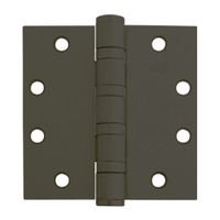 5BB1HW-5x5-641-TW4 IVES 5 Knuckle Ball Bearing Full Mortise Hinge with Electric Thru-Wire in Oxidized Satin Bronze