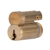 23-030S125-606 Schlage Lock Conventional Full Size Interchangeable Core in Satin Brass