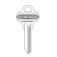35-003C125 Schlage Lock Control Key Do Not Duplicate Embossed Key