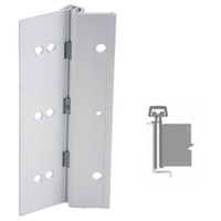 224HD-US28-120-EPT IVES Full Mortise Continuous Geared Hinges with Electrical Power Transfer Prep in Satin Aluminum
