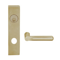 L9050L-18L-613 Schlage L Series Less Cylinder Entrance Commercial Mortise Lock with 18 Cast Lever Design in Oil Rubbed Bronze