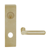 L9080L-18N-613 Schlage L Series Less Cylinder Storeroom Commercial Mortise Lock with 18 Cast Lever Design in Oil Rubbed Bronze
