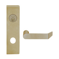 L9080L-06N-613 Schlage L Series Less Cylinder Storeroom Commercial Mortise Lock with 06 Cast Lever Design in Oil Rubbed Bronze