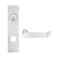 L9453L-06L-626 Schlage L Series Less Cylinder Entrance with Deadbolt Commercial Mortise Lock with 06 Cast Lever Design in Satin Chrome