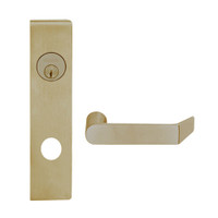 L9453L-06L-613 Schlage L Series Less Cylinder Entrance with Deadbolt Commercial Mortise Lock with 06 Cast Lever Design in Oil Rubbed Bronze