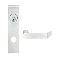 L9453L-06L-619 Schlage L Series Less Cylinder Entrance with Deadbolt Commercial Mortise Lock with 06 Cast Lever Design in Satin Nickel