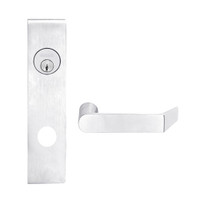 L9453L-06L-625 Schlage L Series Less Cylinder Entrance with Deadbolt Commercial Mortise Lock with 06 Cast Lever Design in Bright Chrome