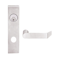 L9453L-06L-629 Schlage L Series Less Cylinder Entrance with Deadbolt Commercial Mortise Lock with 06 Cast Lever Design in Bright Stainless Steel