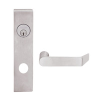 L9453L-06L-630 Schlage L Series Less Cylinder Entrance with Deadbolt Commercial Mortise Lock with 06 Cast Lever Design in Satin Stainless Steel