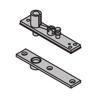 "7259-TOP-SP28 IVES 7259 1-1/2"" Center Hung Top Pivot in Sprayed Aluminum"
