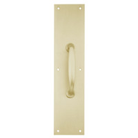 8311-5-US4-4x16 IVES Architectural Door Trim 4x16 Inch Pull Plate in Satin Brass