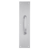 8311-5-US26D-4x16 IVES Architectural Door Trim 4x16 Inch Pull Plate in Satin Chrome