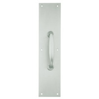 8311-5-US15-6x16 IVES Architectural Door Trim 6x16 Inch Pull Plate in Satin Nickel