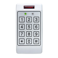 7300 DynaLock 7300 Series Standalone Digital Keypad Single Gang Box-Mount