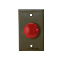 6220-US10B DynaLock 6000 Series Pushbuttons and Palm Switch in Oil Rubbed Bronze