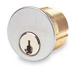 """Ilco 7205SC1 Mortise Cylinder 1 1/4"""" Keyed Alike 42642"""