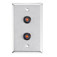 ASP-RP-45 ASP Alarm Control Single Gang Wall Plate