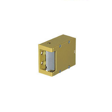 006-8-16AC/4-6DC Trine Light Commercial Electric Strikes in Brass Powder Finish