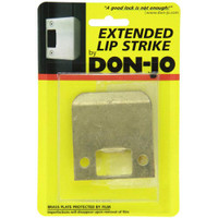 "9102-630 Don Jo 2-1/4"" Extended Lip Strike in Satin Stainless Steel Finish"