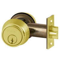 B250PD-605 Schlage B250 Tubular DeadLatch in Bright Brass