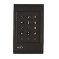 9325-i RCI Standalone Keypad Backlit Interior Traffic Control in Black