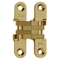 204C-US4 Soss Invisible Hinge in Satin Brass Finish