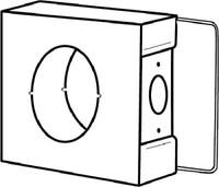 Keedex K-BXSGL234-AL Gate Box