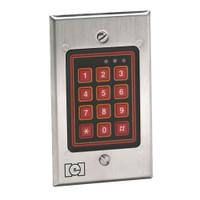 232W IEI Indoor/Outdoor Flush-mount Weather Resistant Keypad