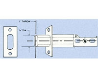 Arrow Lock 144-26D Bolt for Deadbolt series